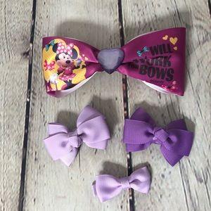 Purple Bow Lot